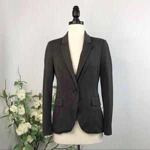 Zara Basic Brown Sleek Blazer